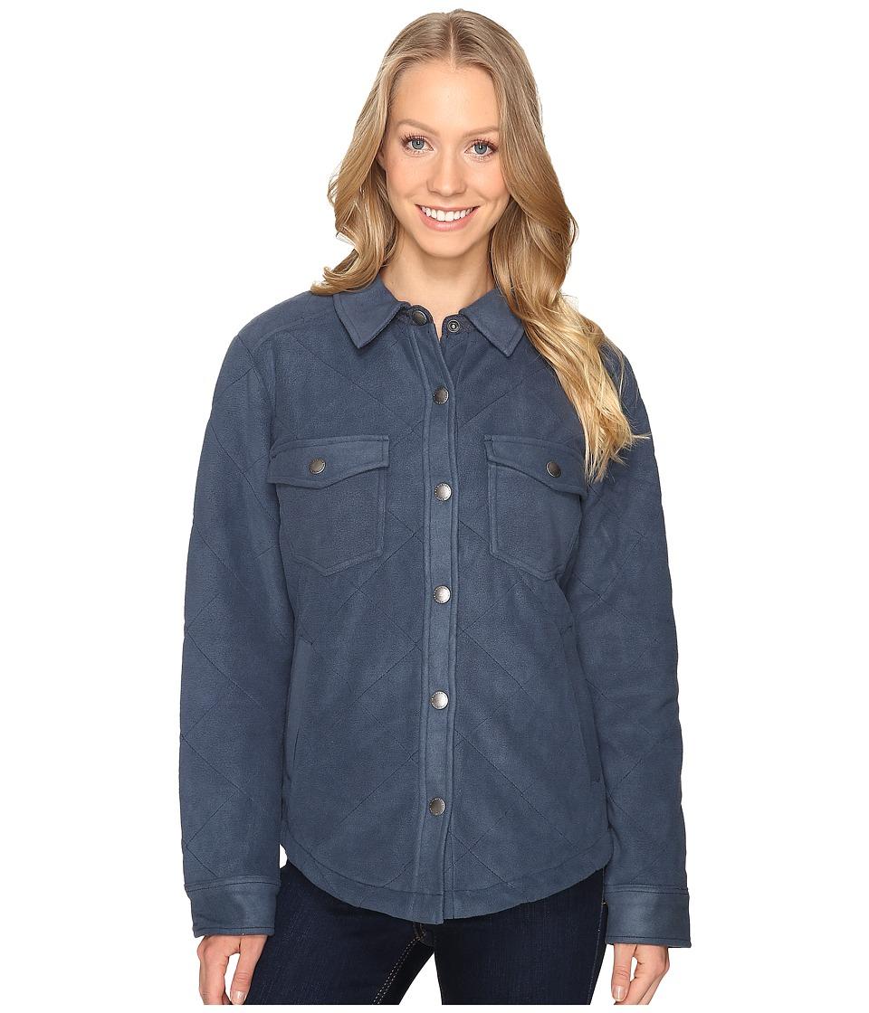 Royal Robbins - Foxtail Fleece Shirt Jack (Navy) Women's Fleece