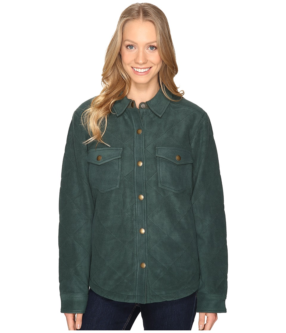 Royal Robbins - Foxtail Fleece Shirt Jack (Spruce) Women's Fleece