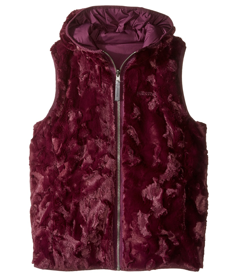 Marmot Kids - Zoey Vest (Little Kids/Big Kids) (Dark Purple) Girl's Vest