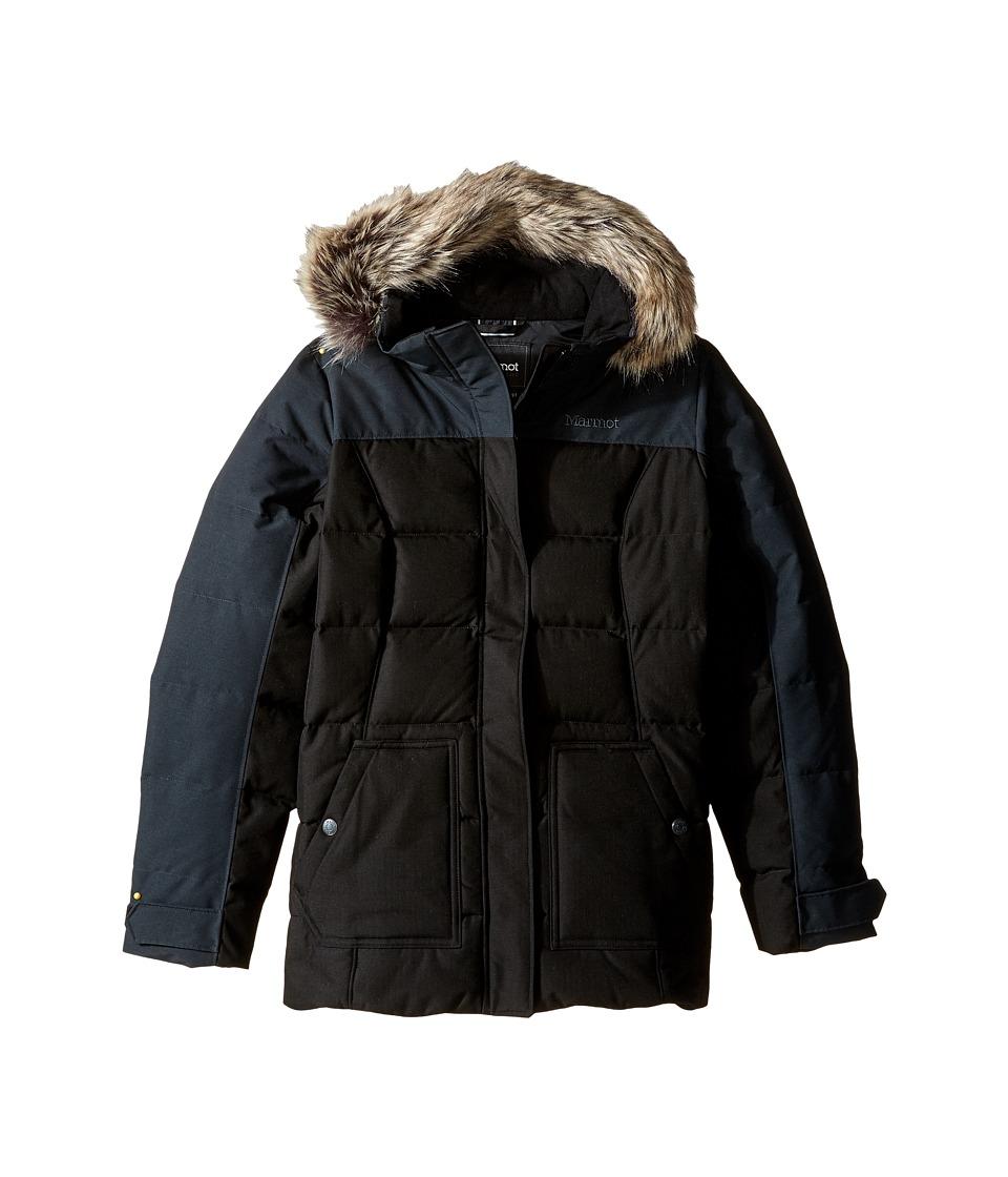 Marmot Kids - Logan Jacket (Little Kids/Big Kids) (Black) Girl's Coat