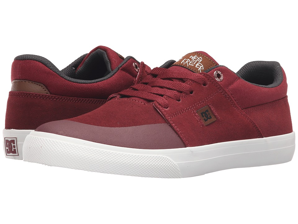 DC - Wes Kremer (Burgundy) Men's Lace up casual Shoes