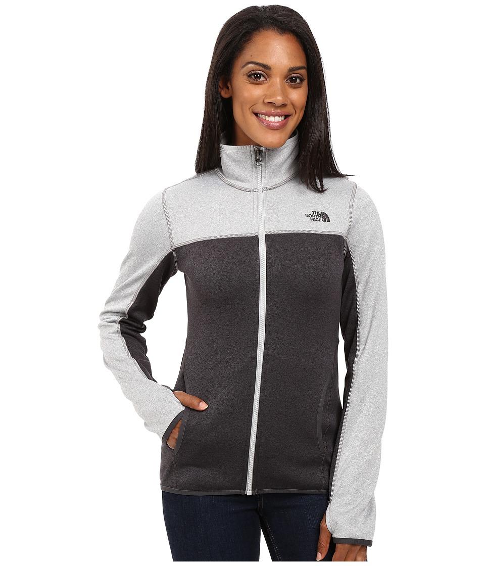 The North Face - Amazie Mays Full Zip (TNF Dark Grey Heather/TNF Light Grey Heather) Women's Coat