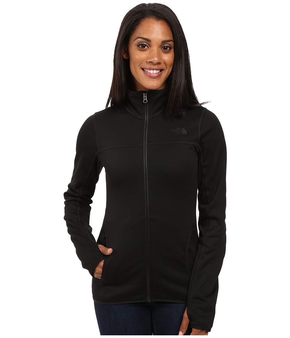 The North Face - Amazie Mays Full Zip (TNF Black/TNF Black) Women's Coat