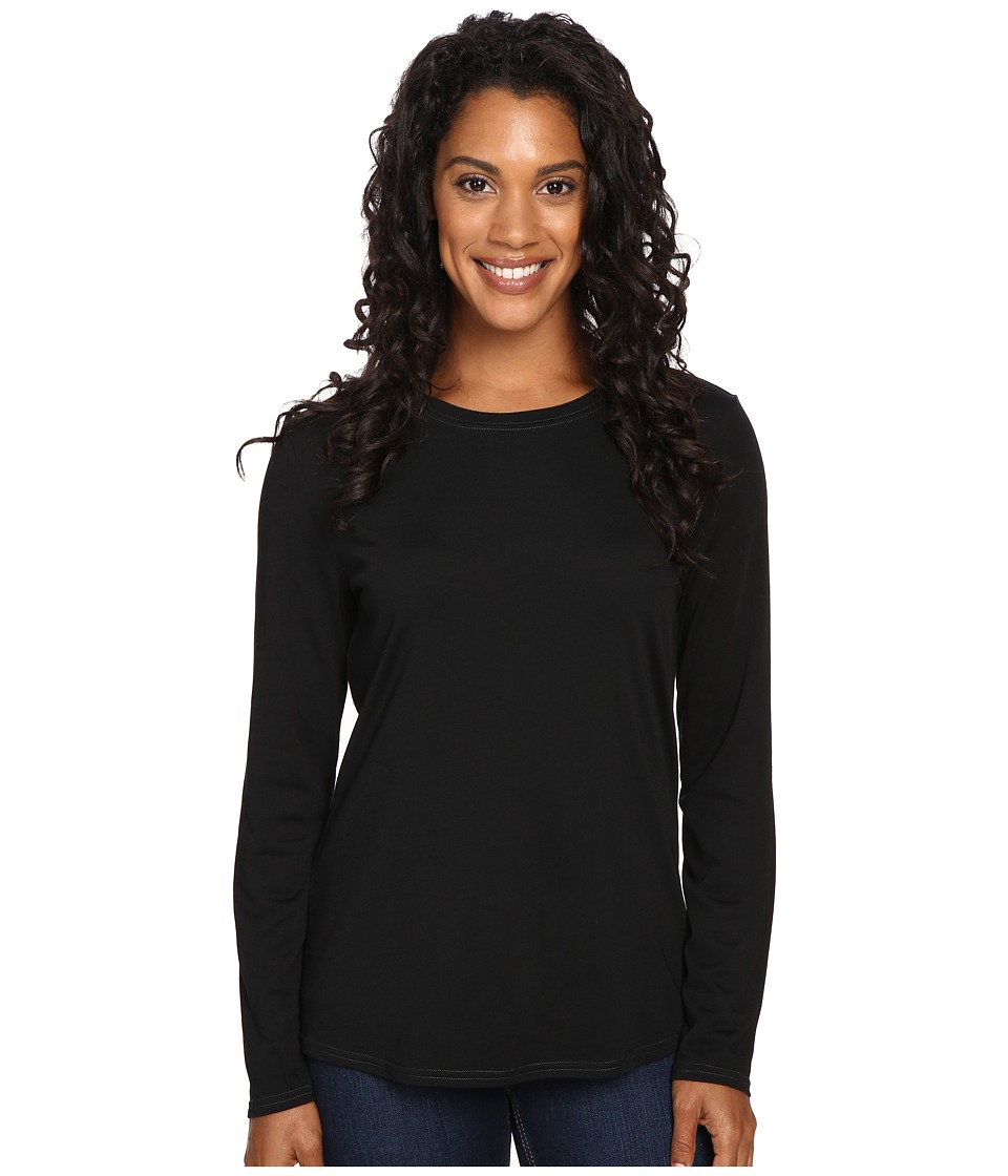 Royal Robbins Go Everywhere Merino Crew (Jet Black) Women