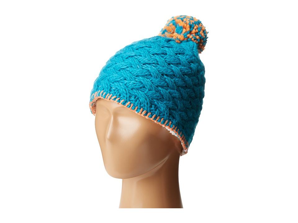 Marmot Kids - Denise Hat (Little Kids/Big Kids) (Turquoise) Caps