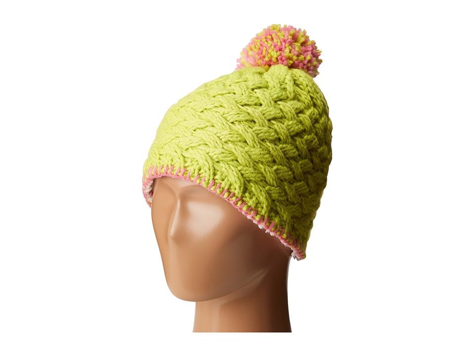 Marmot Kids - Denise Hat (Little Kids/Big Kids) (Bright Green) Caps