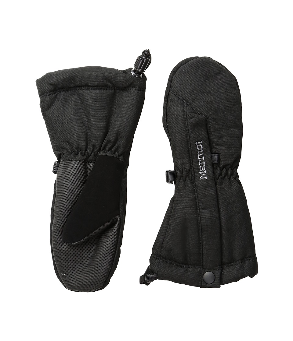 Marmot Kids - Split Mitt (Little Kids/Big Kids) (Black) Extreme Cold Weather Gloves