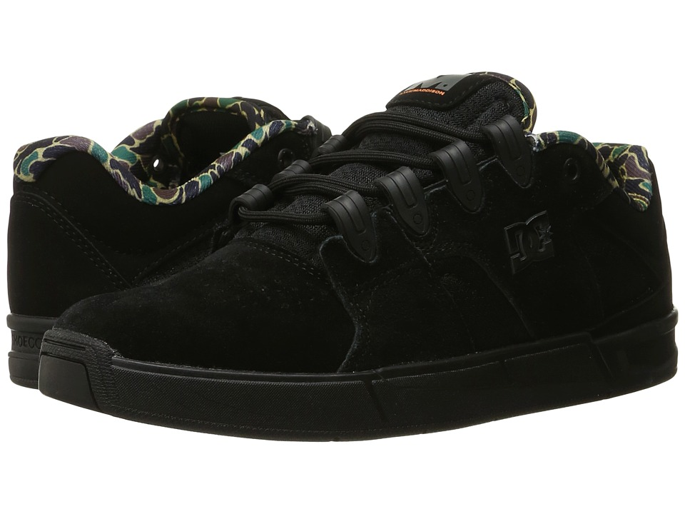 DC - Maddo (Black Camo) Men's Skate Shoes