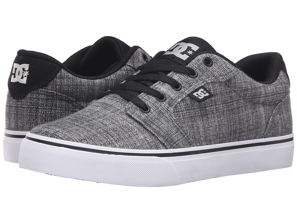 DC - Anvil TX SE (Grey Heather) Men's Shoes