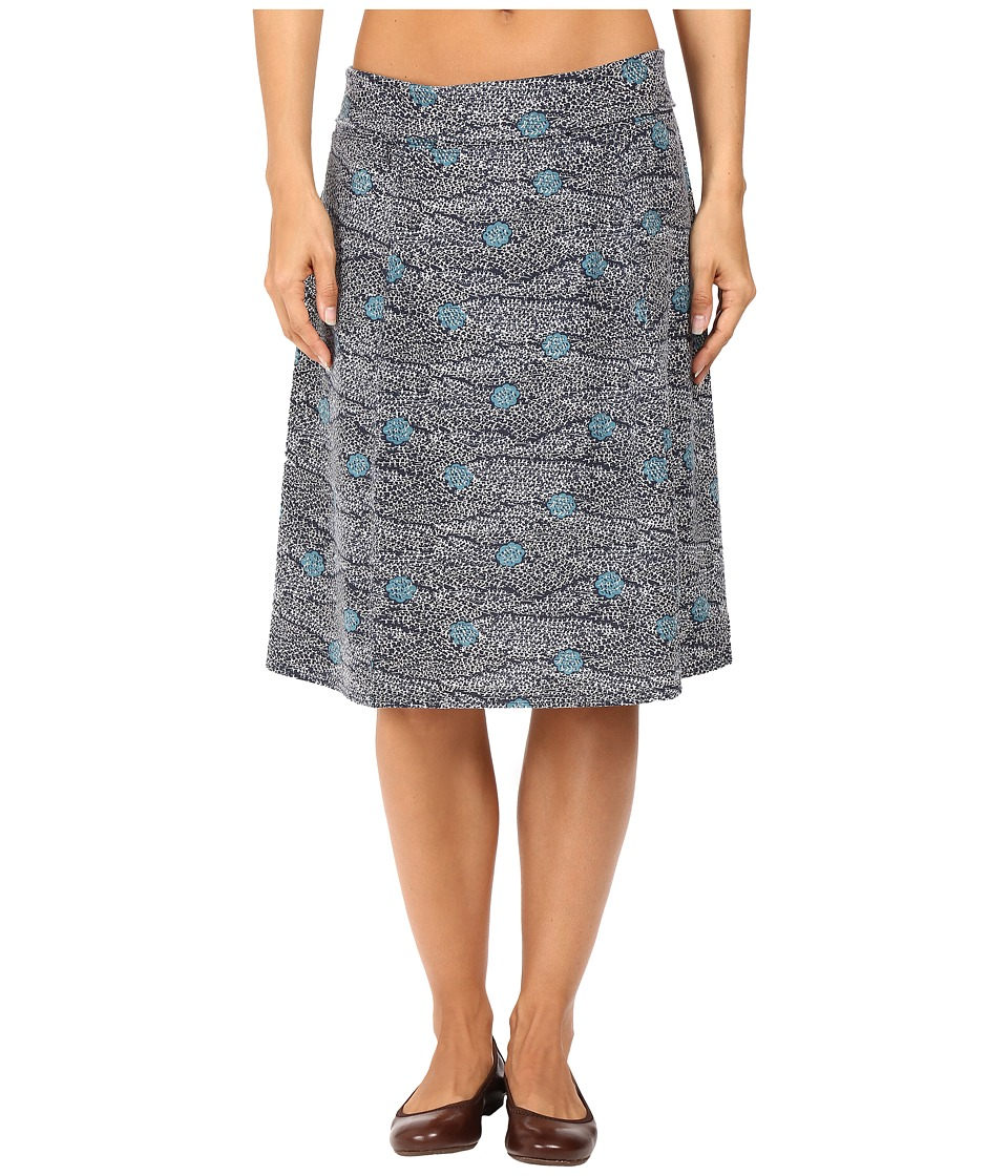 Royal Robbins - Essential Tencel Printed Skirt (Navy) Women's Skirt