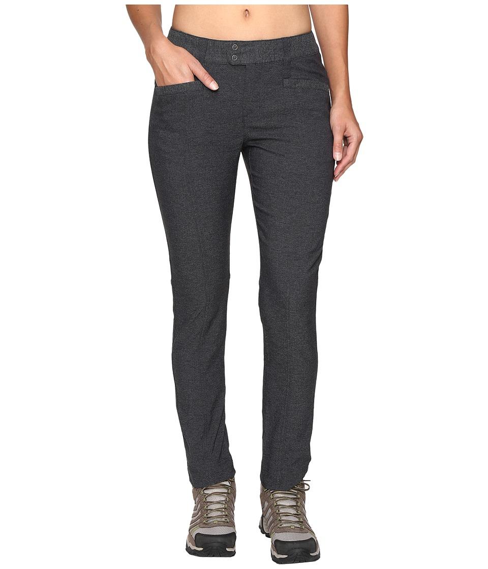 Royal Robbins - Herringbone Discover Pencil Pants (Charcoal) Women's Casual Pants