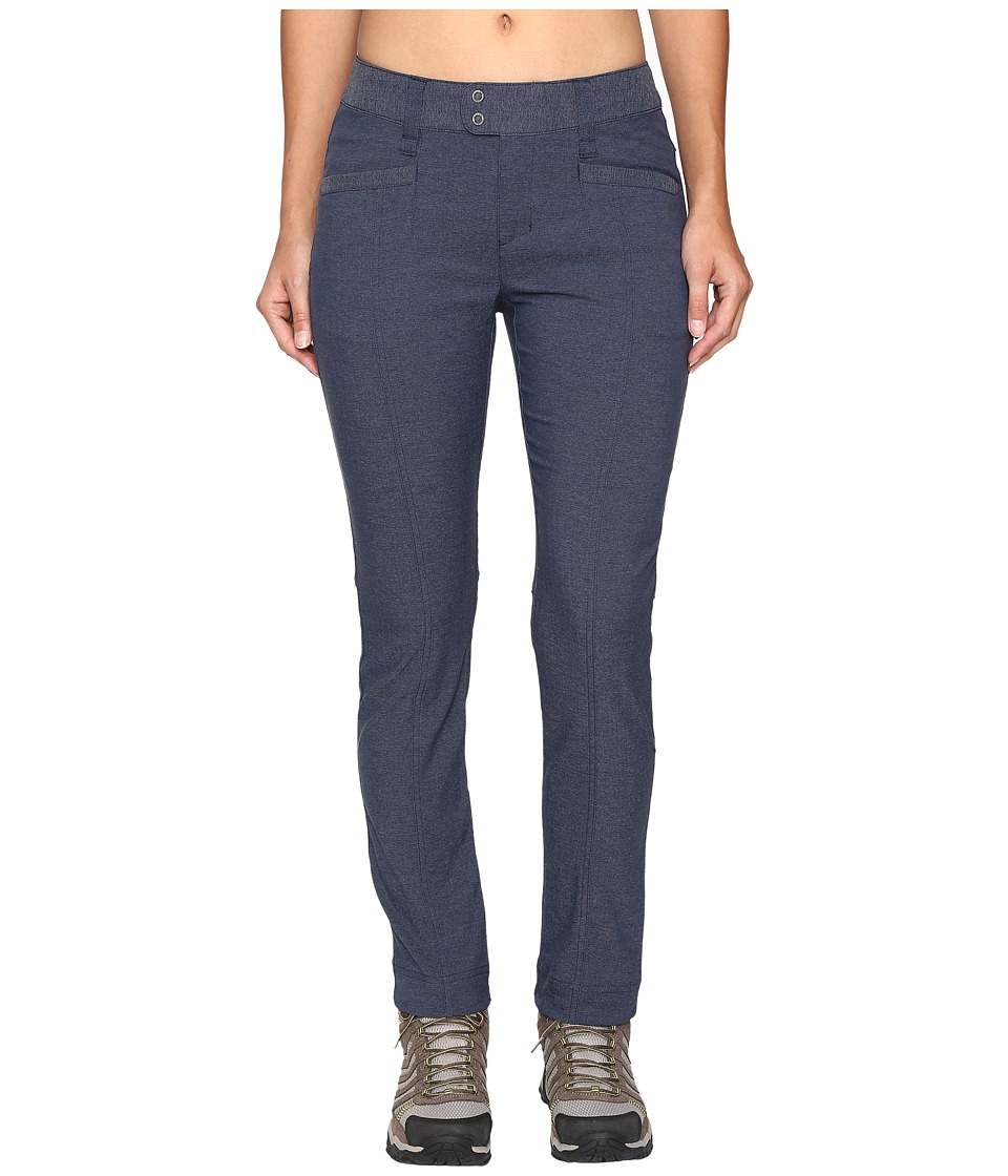 Royal Robbins - Herringbone Discover Pencil Pants (Dark Indigo) Women's Casual Pants
