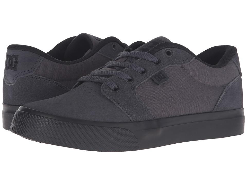 DC - Anvil (Charcoal/Black) Men's Skate Shoes