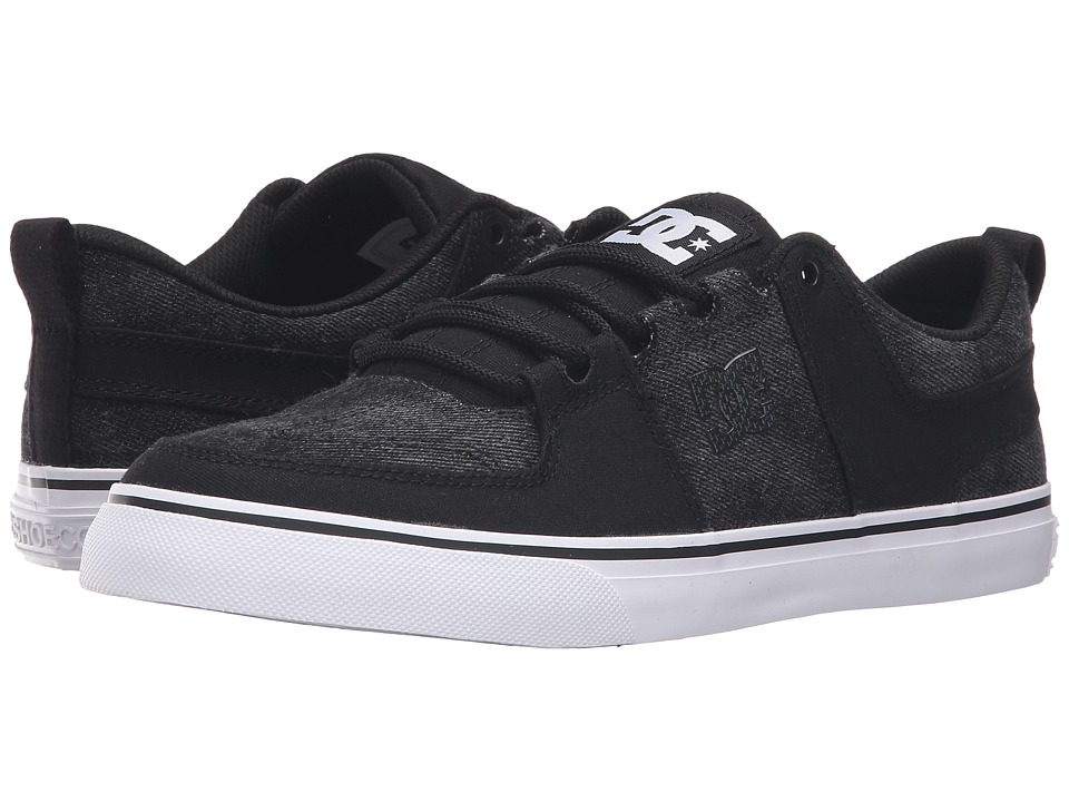 DC - Lynx Vulc TX SE (Washed Out Black) Skate Shoes