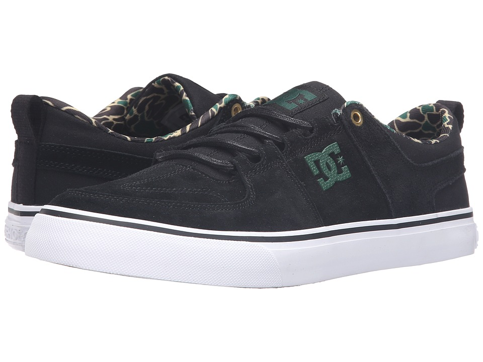 DC - Lynx Vulc SE (Black Camouflage) Men's Shoes