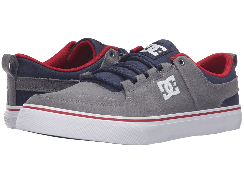 DC - Lynx Vulc (Grey/Dark Navy) Skate Shoes