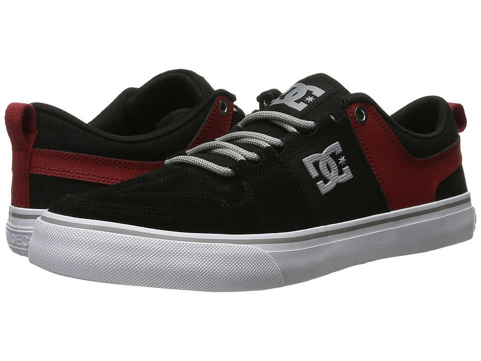 DC - Lynx Vulc (Black/Red/Grey) Skate Shoes