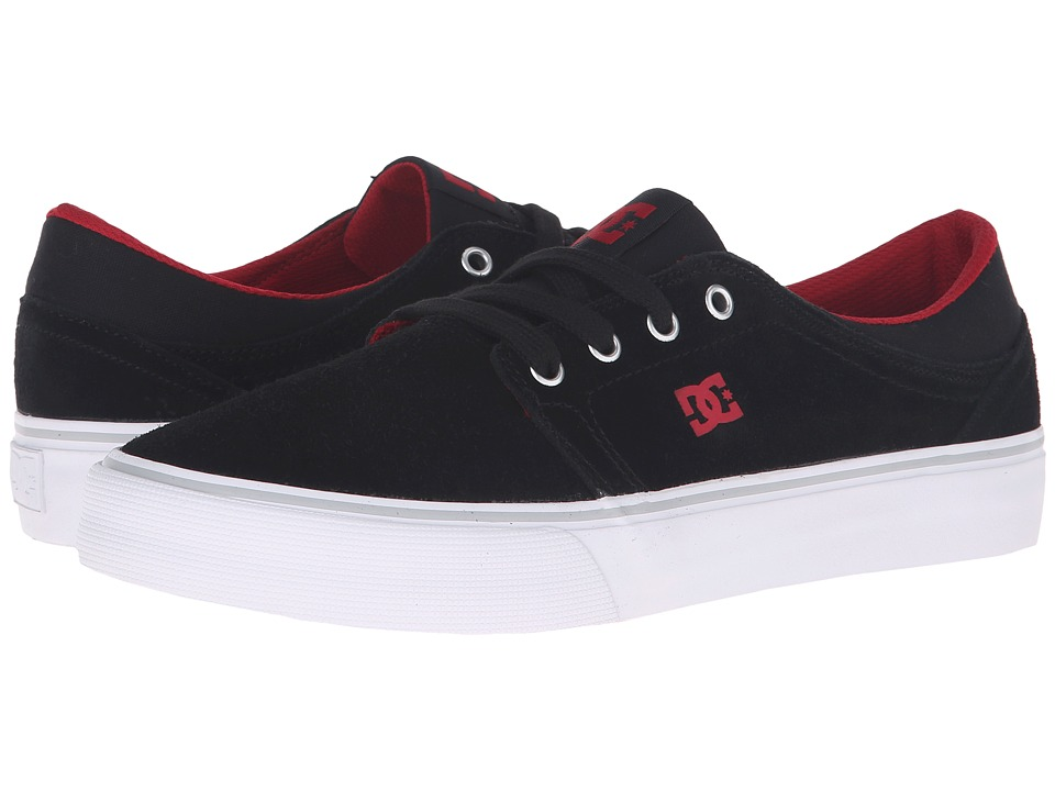 DC - Trase SD (Black/Red) Skate Shoes