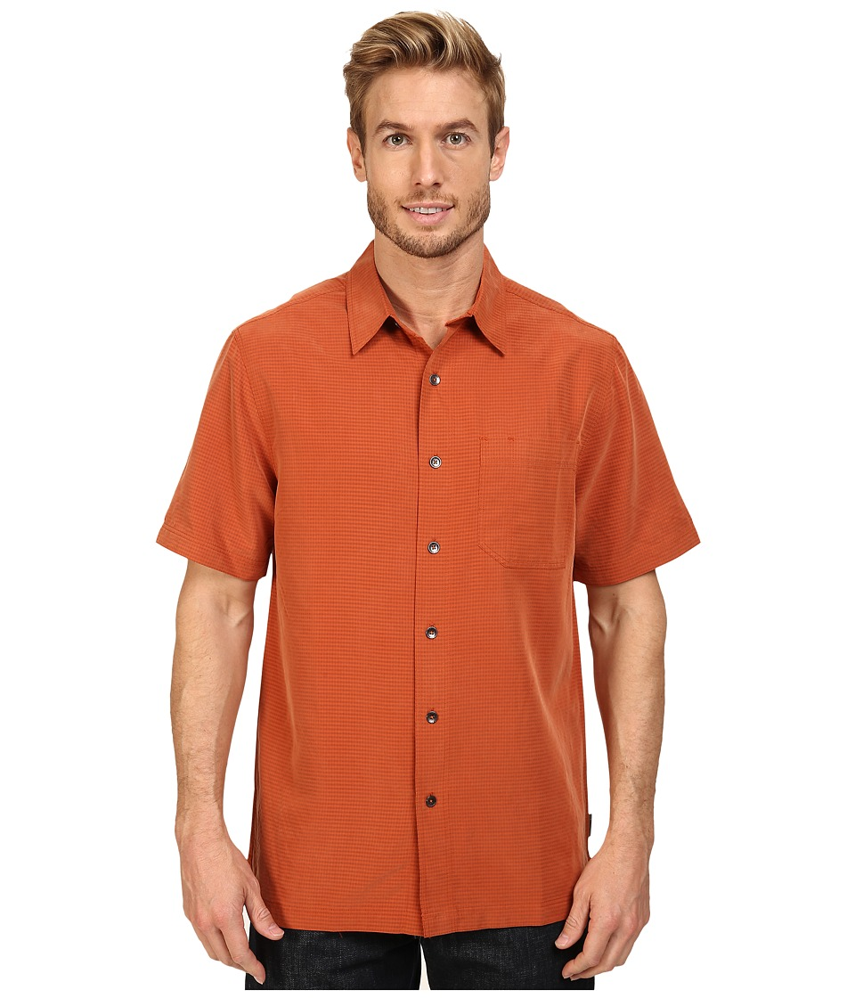 Royal Robbins - Desert Pucker S/S Shirt (Fox) Men's Short Sleeve Button Up