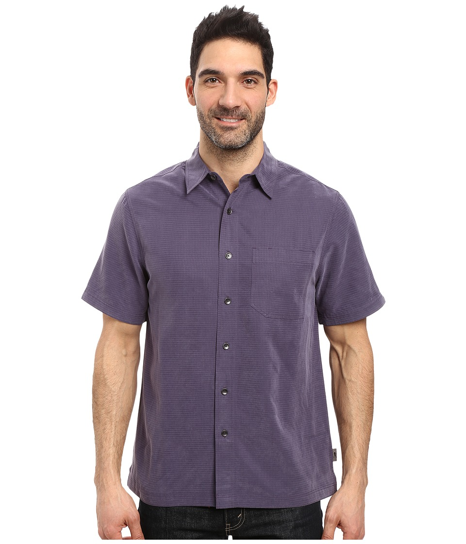 Royal Robbins - Desert Pucker S/S Shirt (Graystone) Men's Short Sleeve Button Up