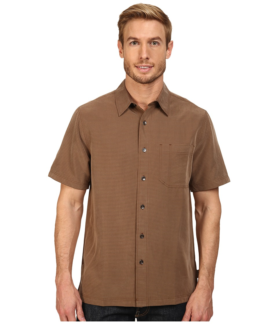 Royal Robbins - Desert Pucker S/S Shirt (Desert Palm) Men's Short Sleeve Button Up