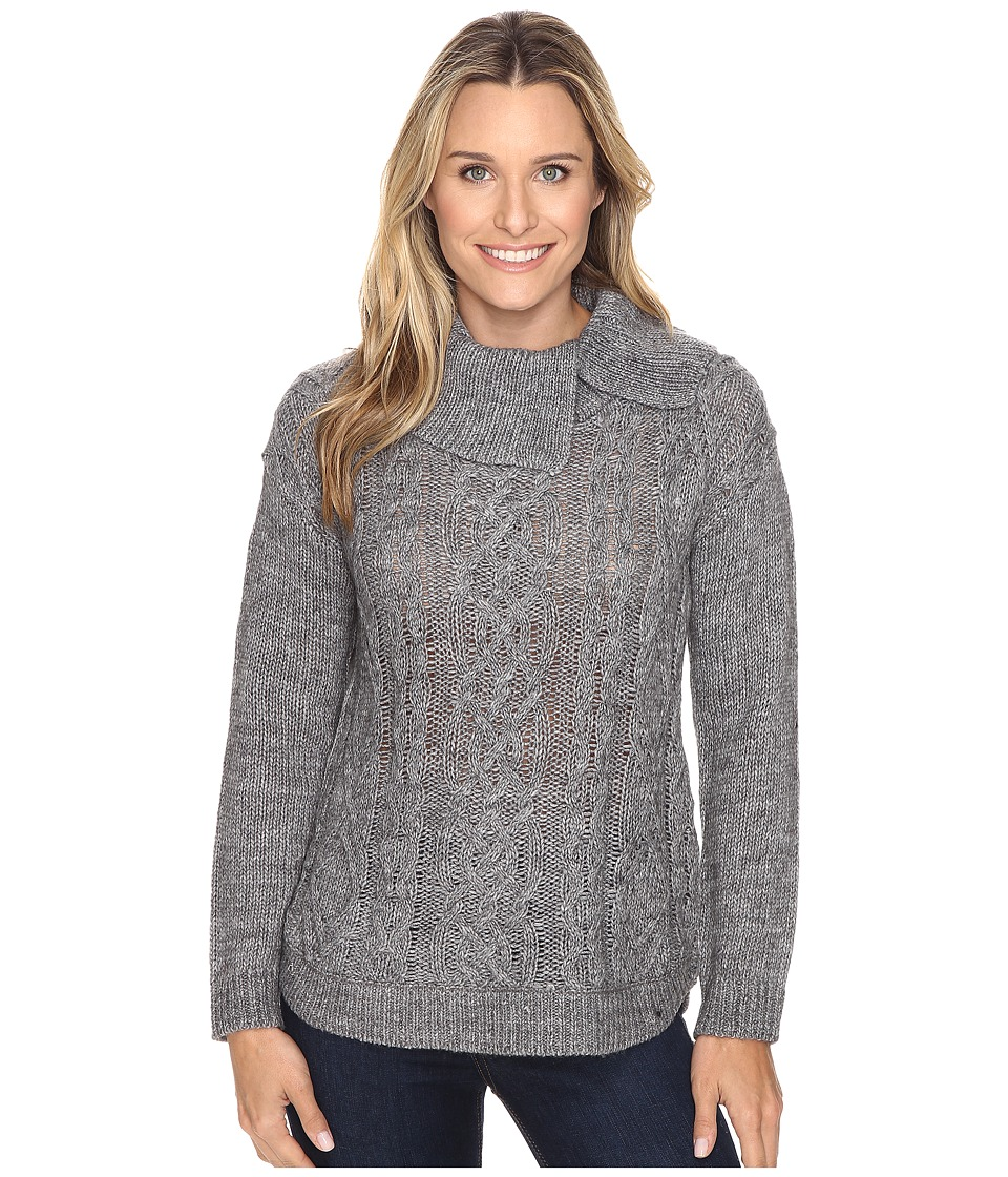 Royal Robbins - Ahwahnee Turtleneck (Charcoal) Women's Sweater
