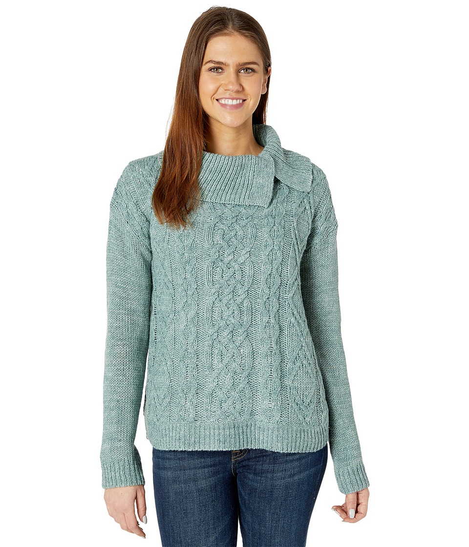 Royal Robbins - Ahwahnee Turtleneck (Silver Pine) Women's Sweater