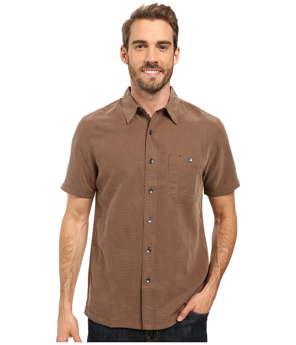 Royal Robbins - Mojave Desert Pucker S/S (Desert Palm) Men's Short Sleeve Button Up