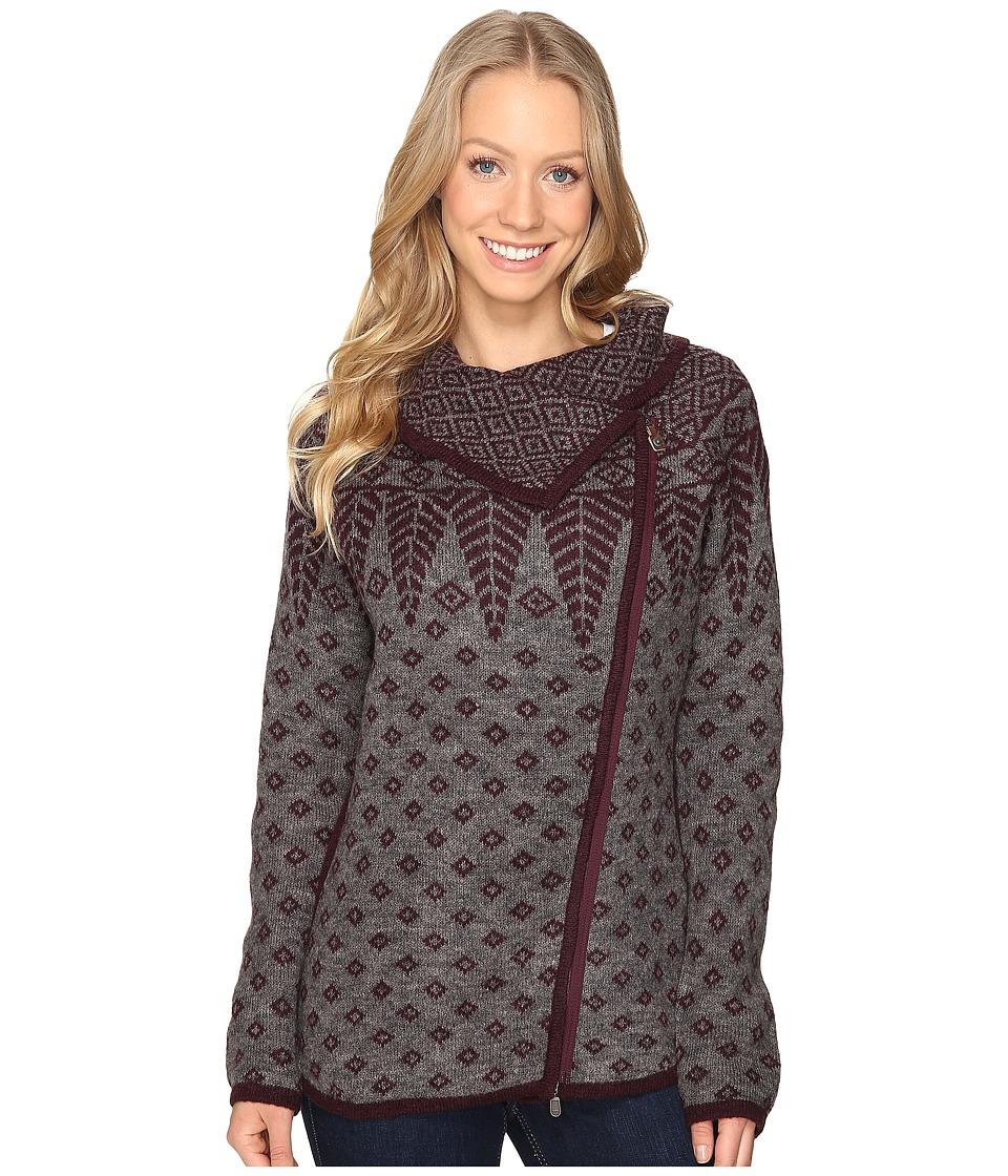Royal Robbins - Autumn Pine Zip Cardigan (Beet) Women's Sweater