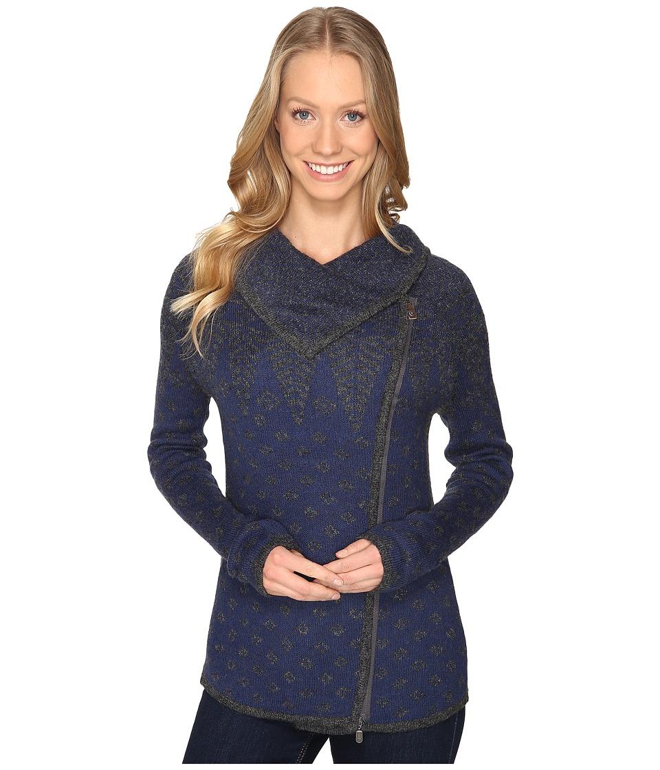 Royal Robbins - Autumn Pine Zip Cardigan (Pewter) Women's Sweater