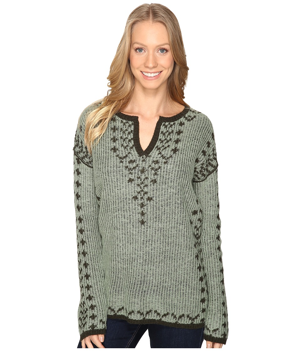 Royal Robbins - Autumn Pine Pullover (Agave) Women's Long Sleeve Pullover