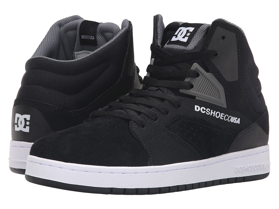 DC - Seneca High (Black) Men's Skate Shoes