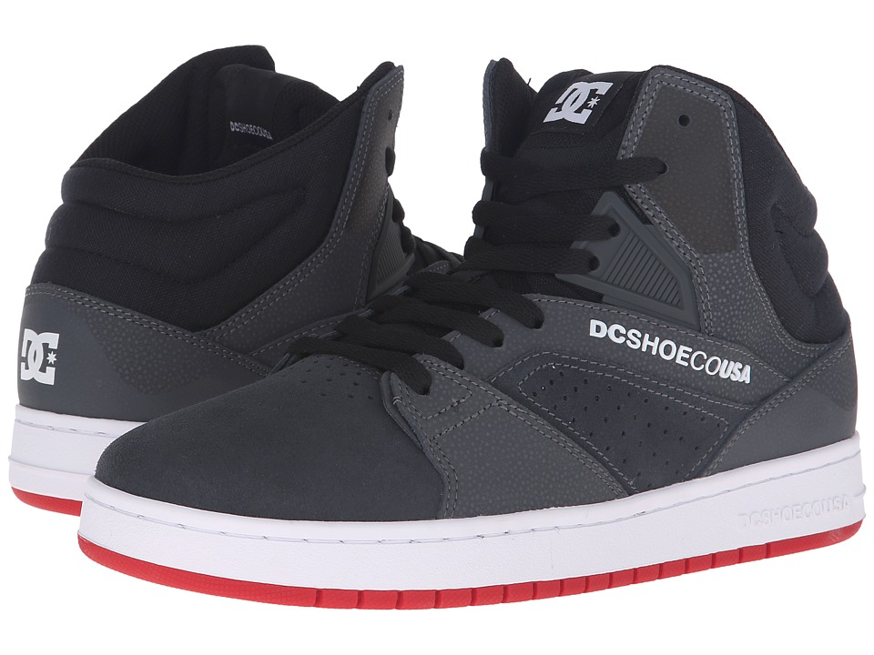 DC - Seneca High (Grey/Black) Men's Skate Shoes