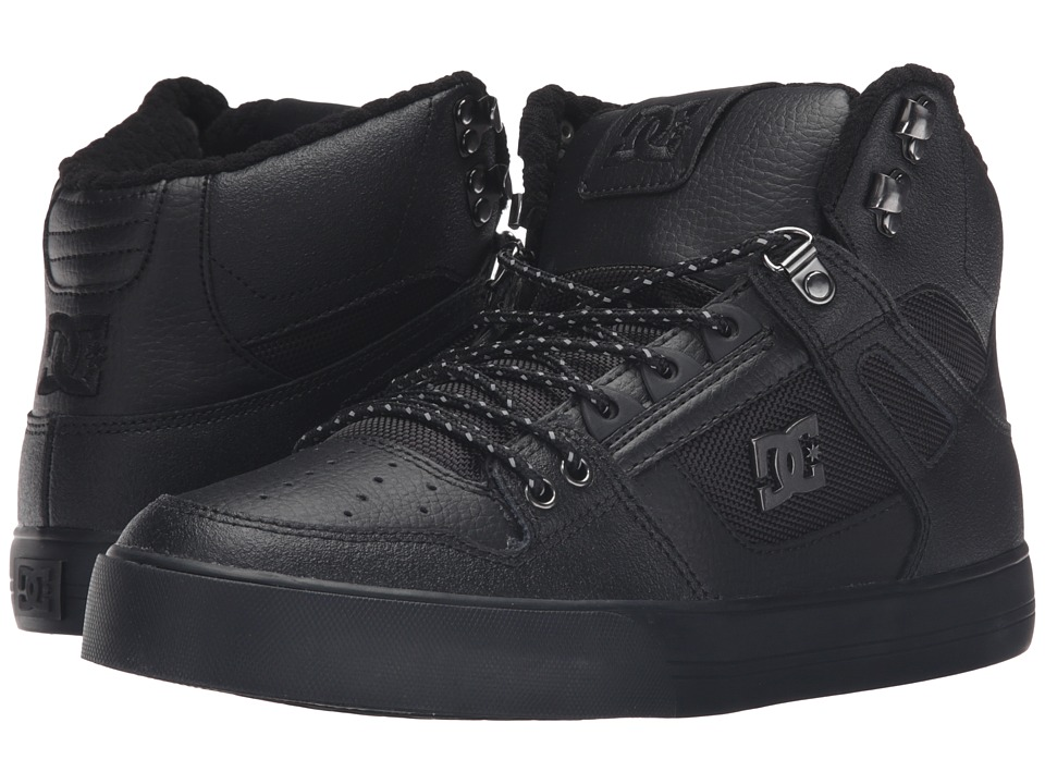 DC - Spartan High WC SE (Black 3) Men's Skate Shoes