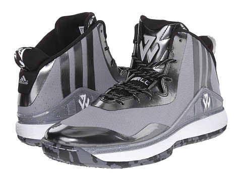 adidas - J Wall (Light Onix/Black/White) Men