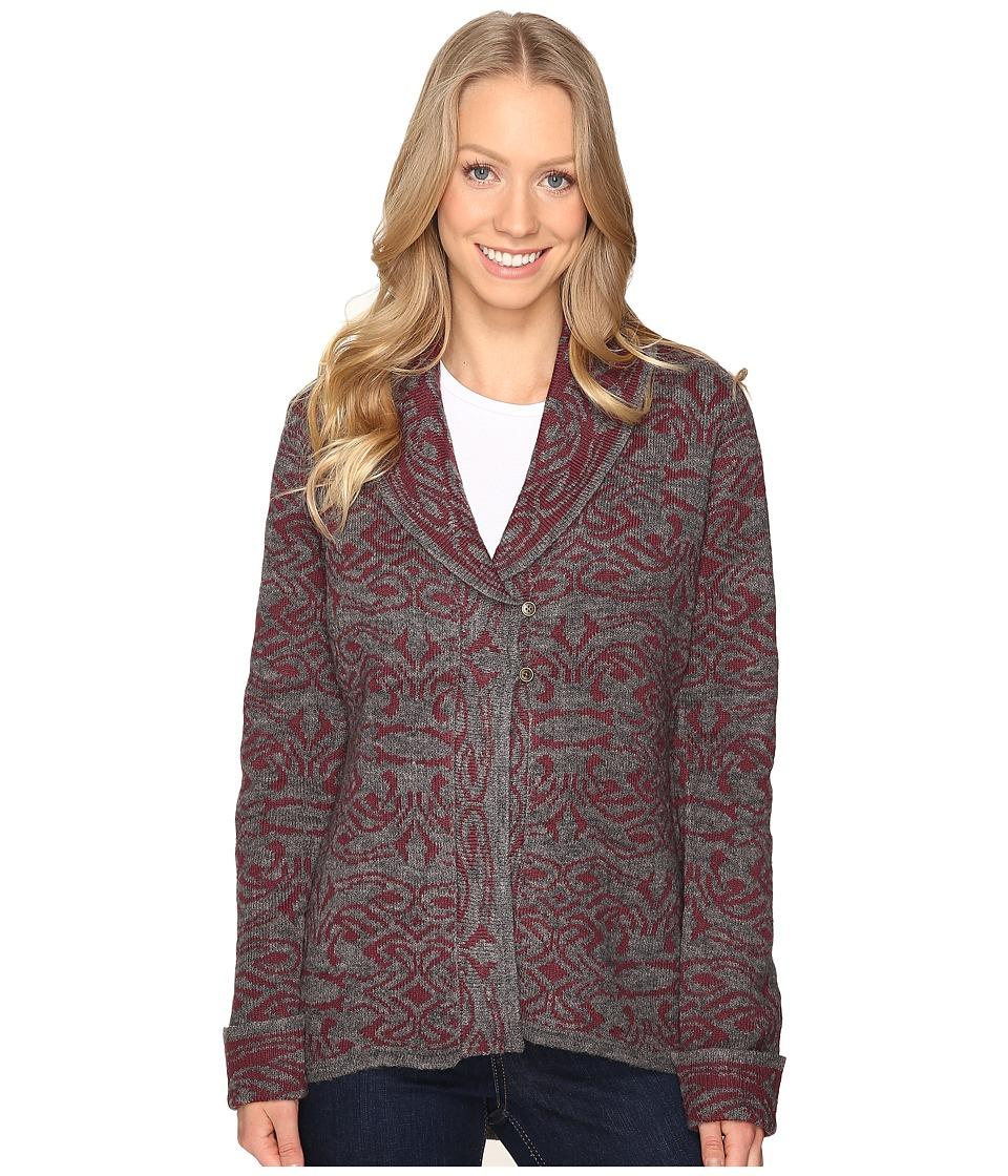 Royal Robbins - Autumn Rose Cardigan (Beet) Women's Sweater