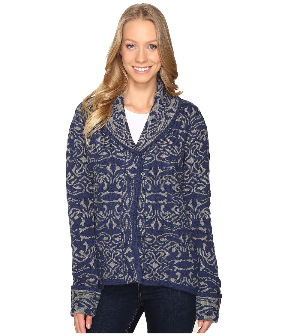 Royal Robbins - Autumn Rose Cardigan (Pewter) Women's Sweater