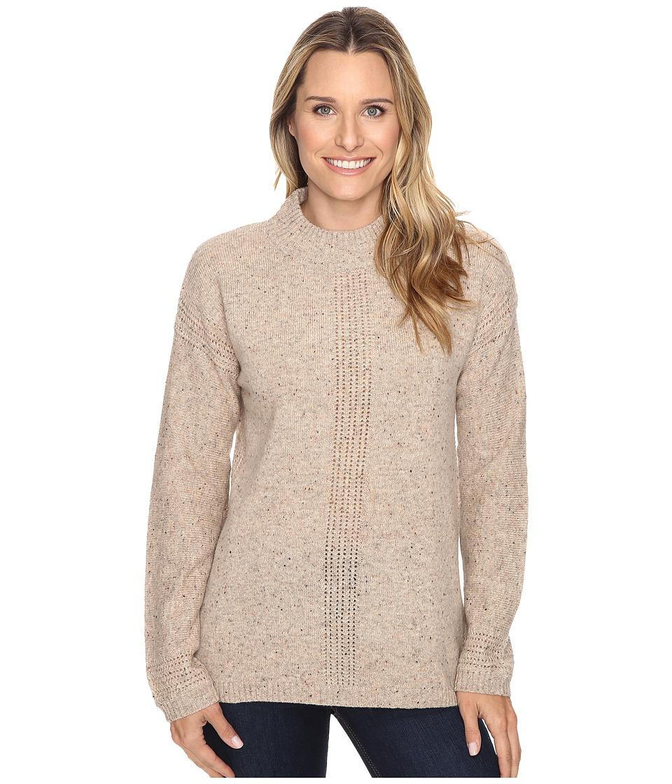Royal Robbins - First Fleet Mock Neck (Oatmeal) Women's Sweater
