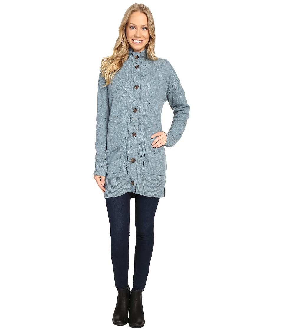 Royal Robbins - First Fleet Sweater Coat (Robin's Egg) Women's Coat