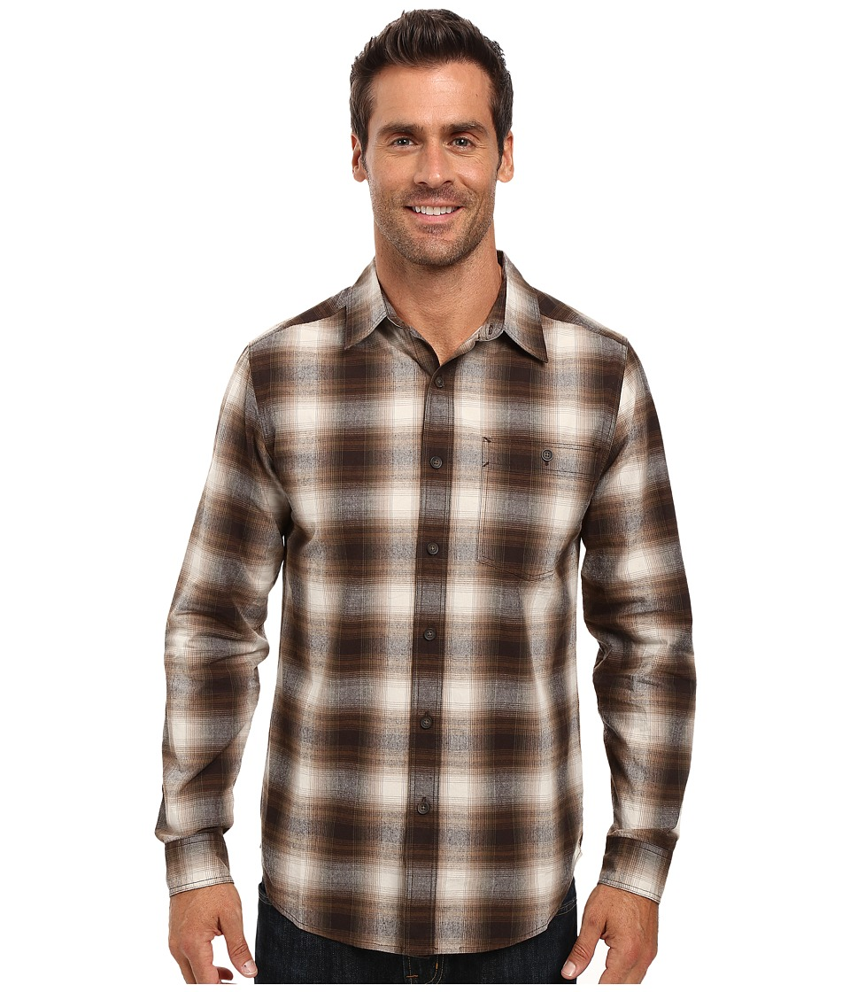 Royal Robbins - Galen Cotton Long Sleeve Shirt (Everglade) Men's Long Sleeve Button Up