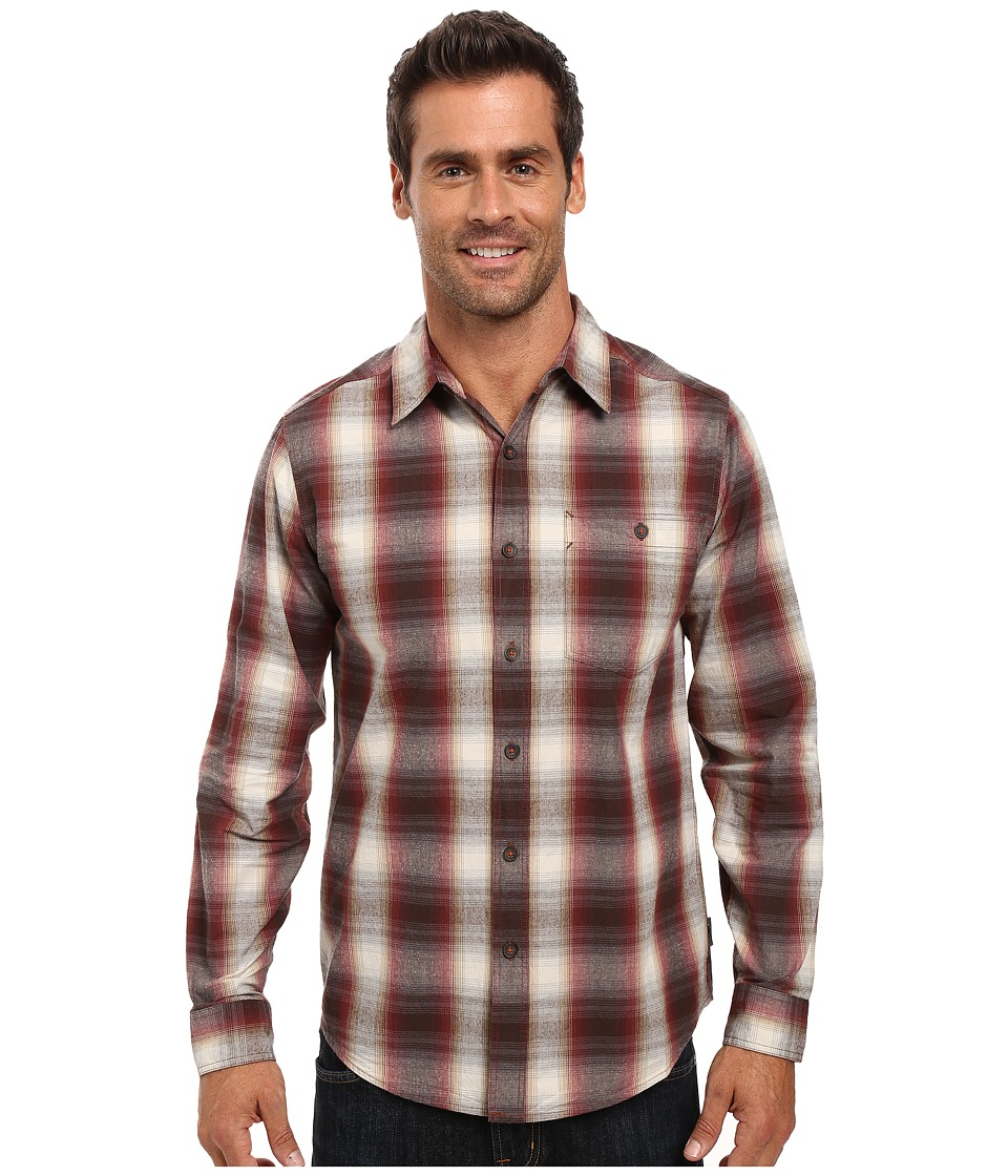Royal Robbins - Galen Cotton Long Sleeve Shirt (Hawthorn) Men's Long Sleeve Button Up