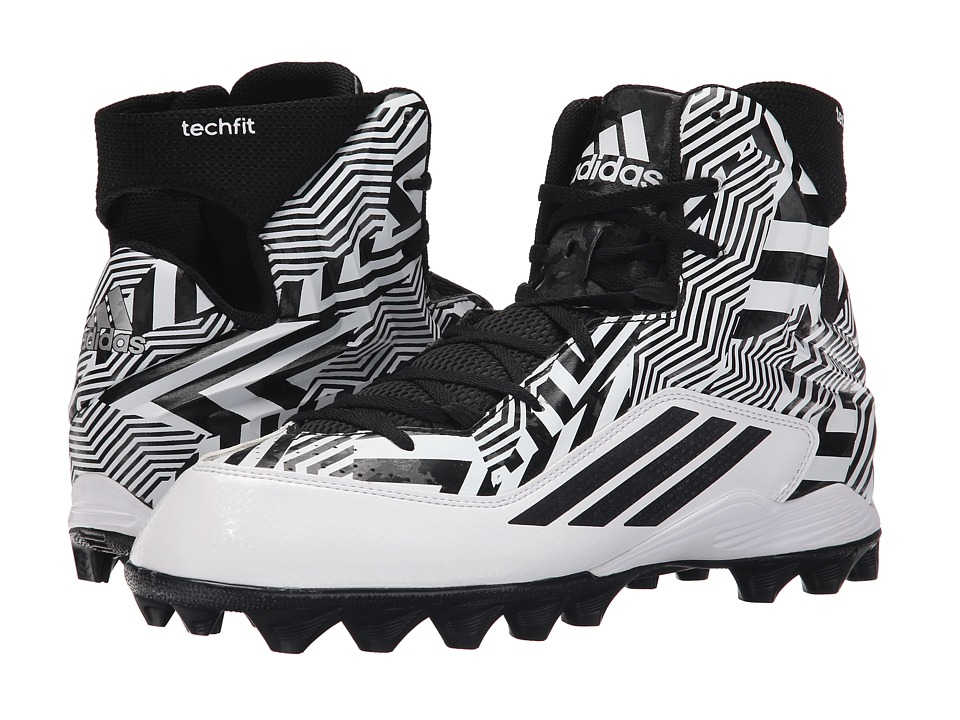 adidas - Filthyquick 2.0 MD (White/Metallic/Black/Graphic) Men's Shoes