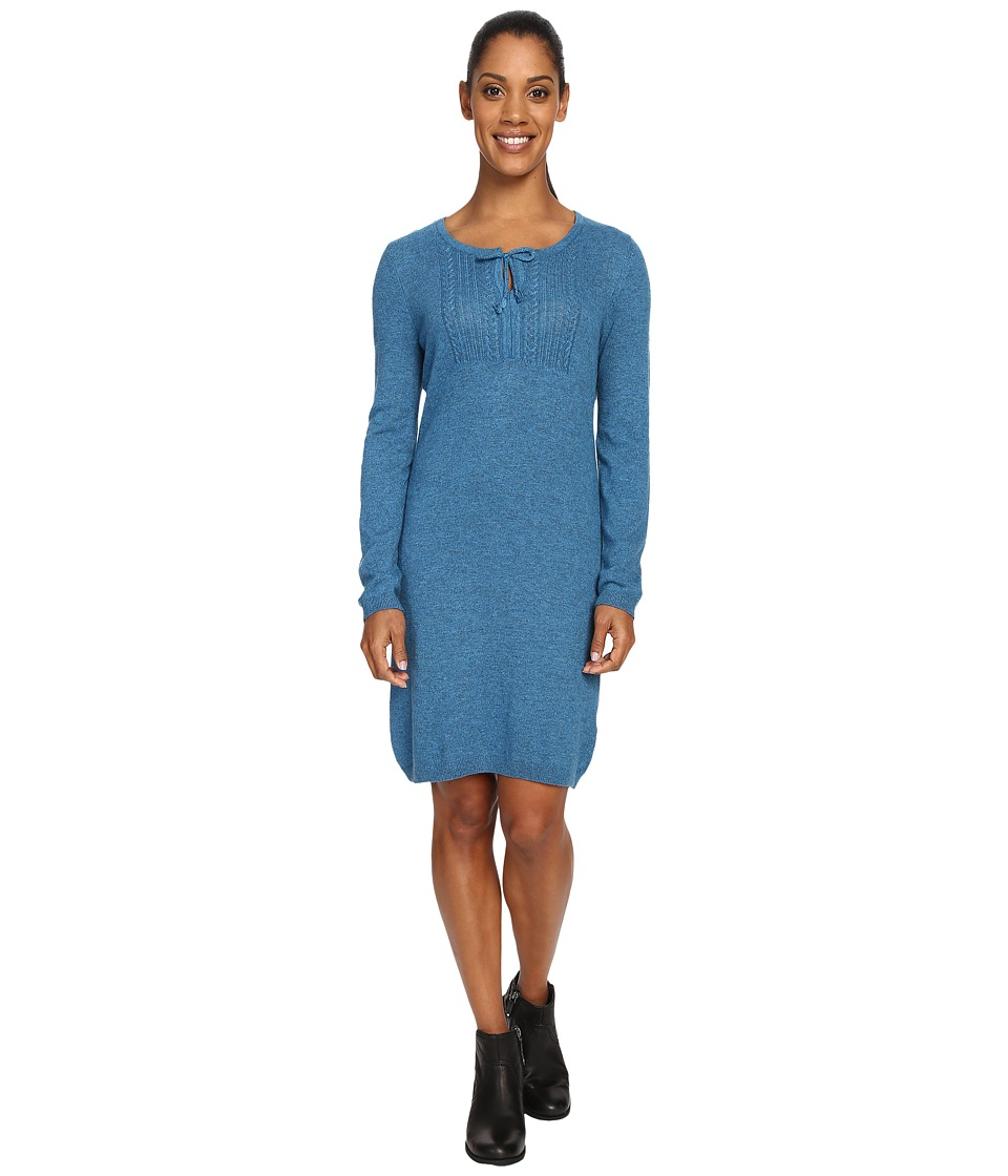 Royal Robbins - First Light Sweater Dress (Peninsula) Women's Dress