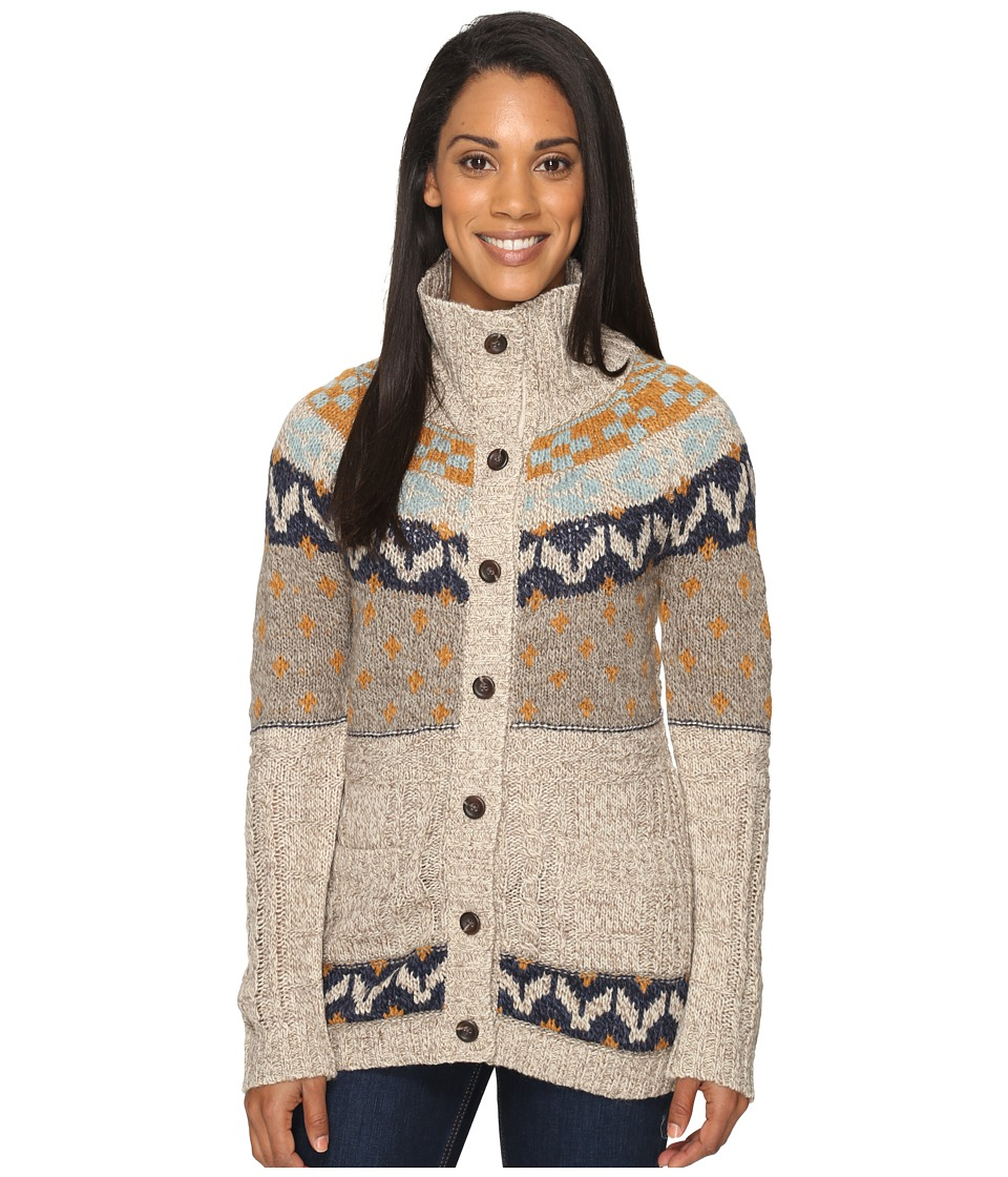 Royal Robbins - Mystic Button Cardigan (Oatmeal) Women's Sweater
