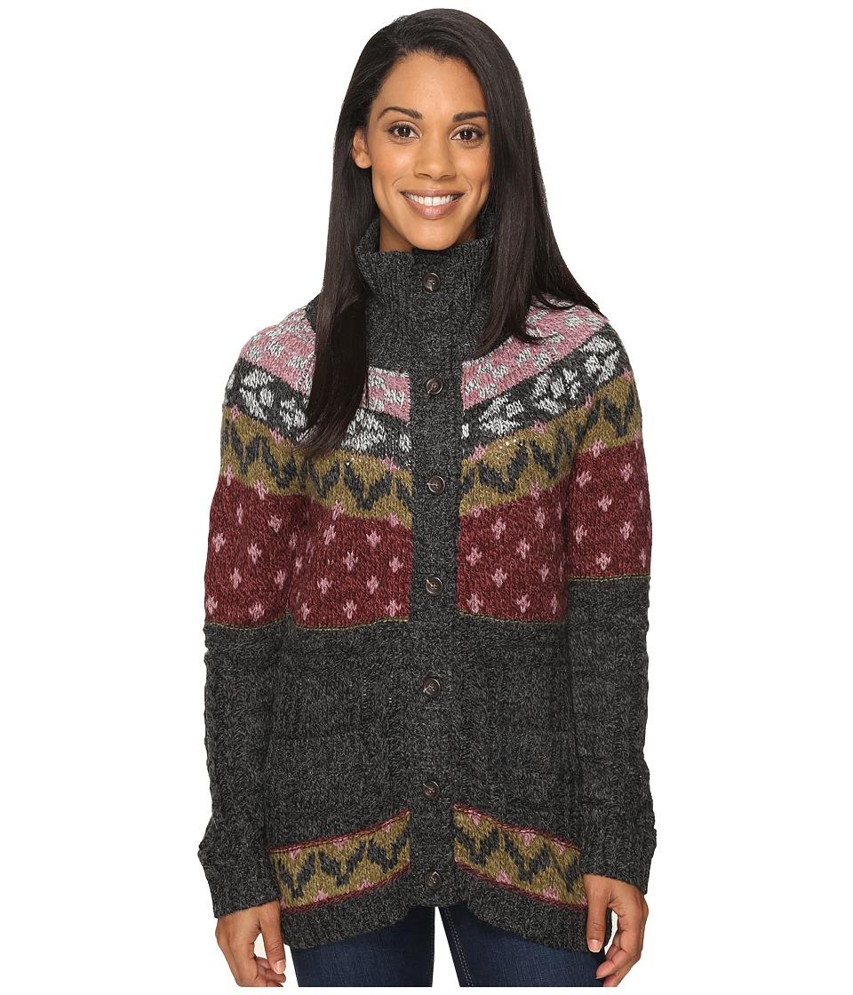 Royal Robbins - Mystic Button Cardigan (Obsidian) Women's Sweater