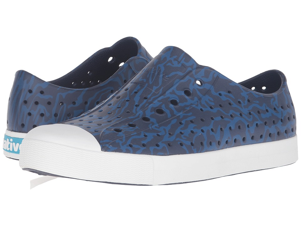 Native Shoes - Jefferson (Regatta Blue/Shell White/Anthill Camo) Shoes