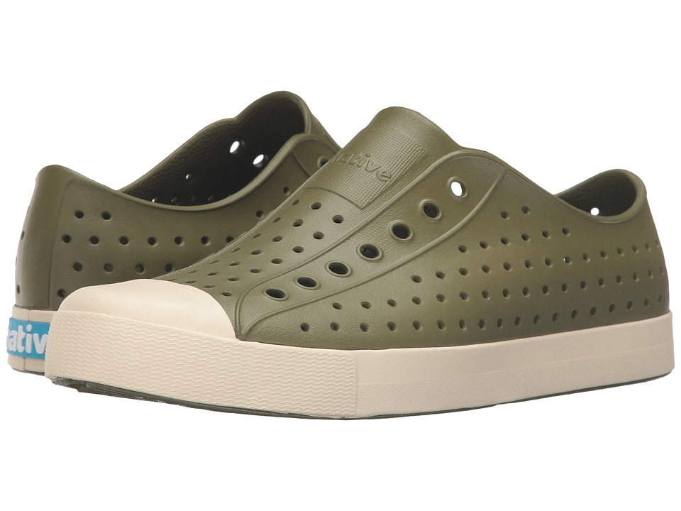 Native Shoes - Jefferson (Rookie Green/Bone White) Shoes