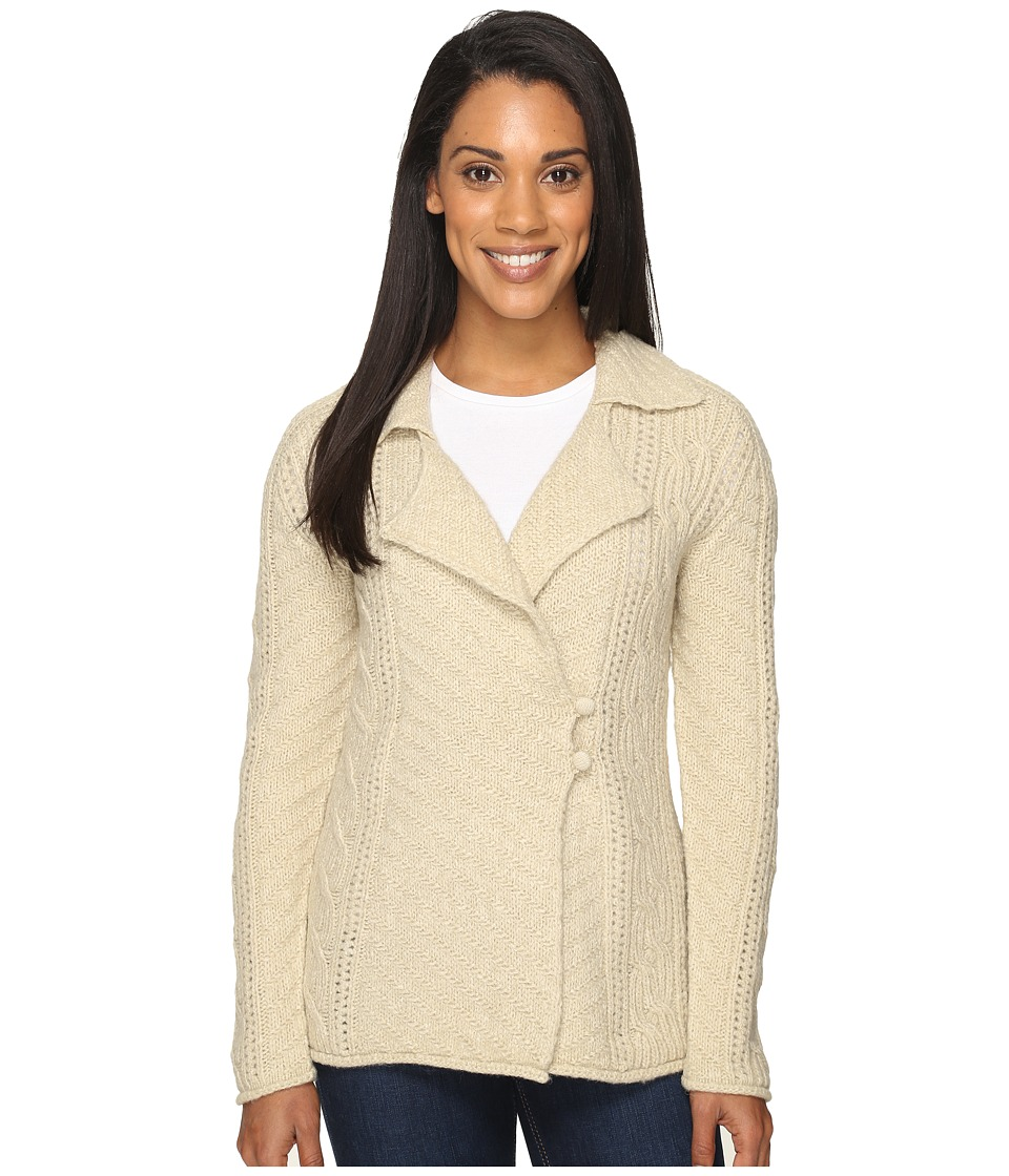Royal Robbins - Sequoia Cardigan (Light Khaki) Women's Sweater