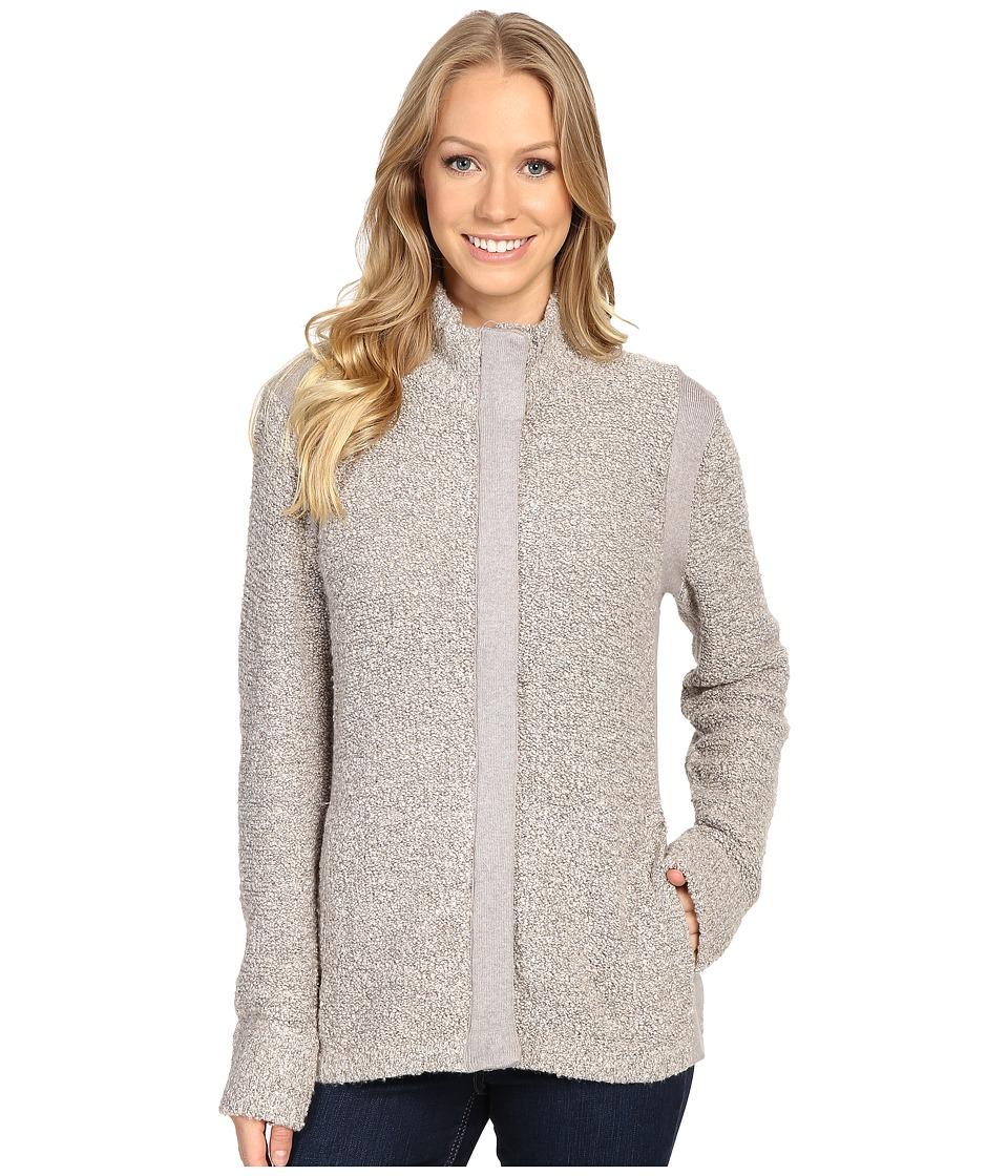 Royal Robbins - Bella Boucl Zip Cardigan (Sandstone) Women's Sweater