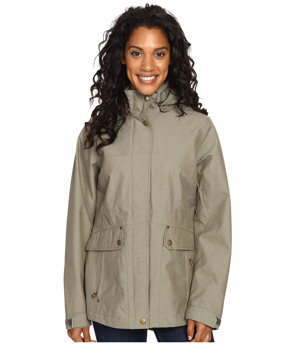 Royal Robbins - Mobilizer Waterproof Trench (Fern) Women's Coat